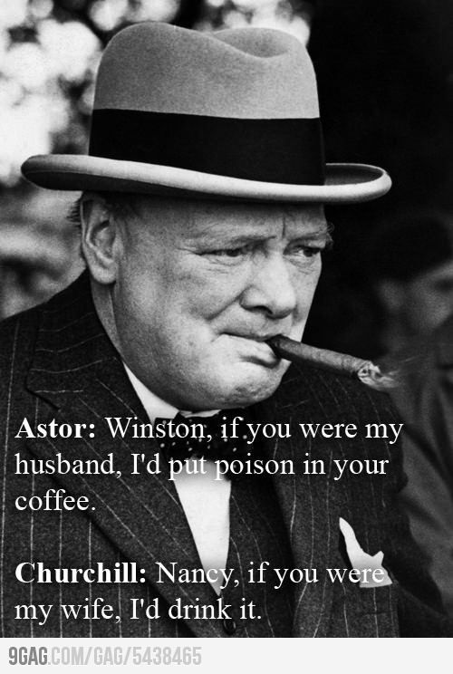 Trolling Churchill