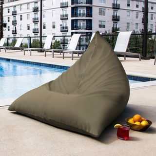 Shop For Twist Outdoor Bean Bag Chair Get Free Delivery At Overstock