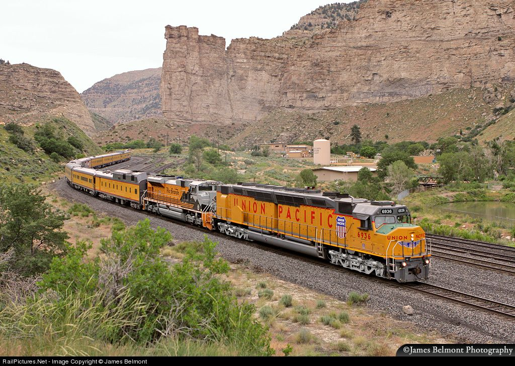 Railpictures net photo up 6936 union pacific emd dd40x at for Railpictures