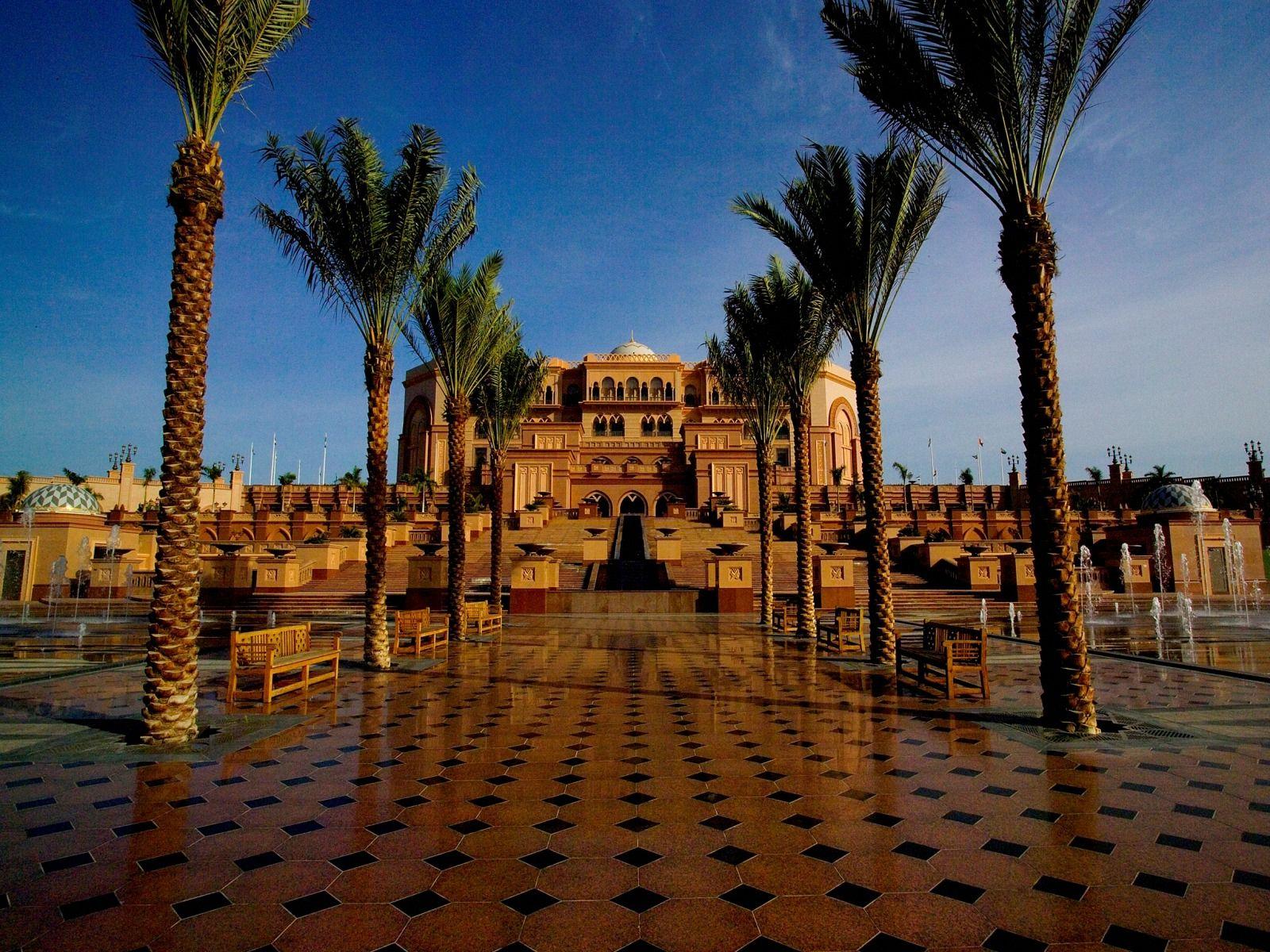 The Emirates Palace a luxury hotel in Abu Dhabi United Arab