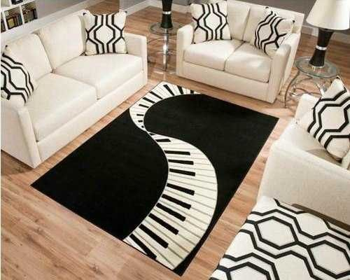 Black and White Decorating Ideas Highlighting Music Themes ...