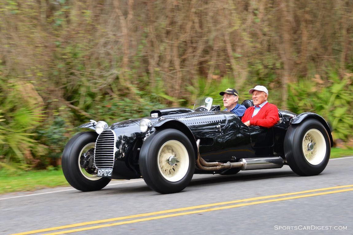 Sir Stirling Moss in the 1950 HWM Stovebolt Special on the