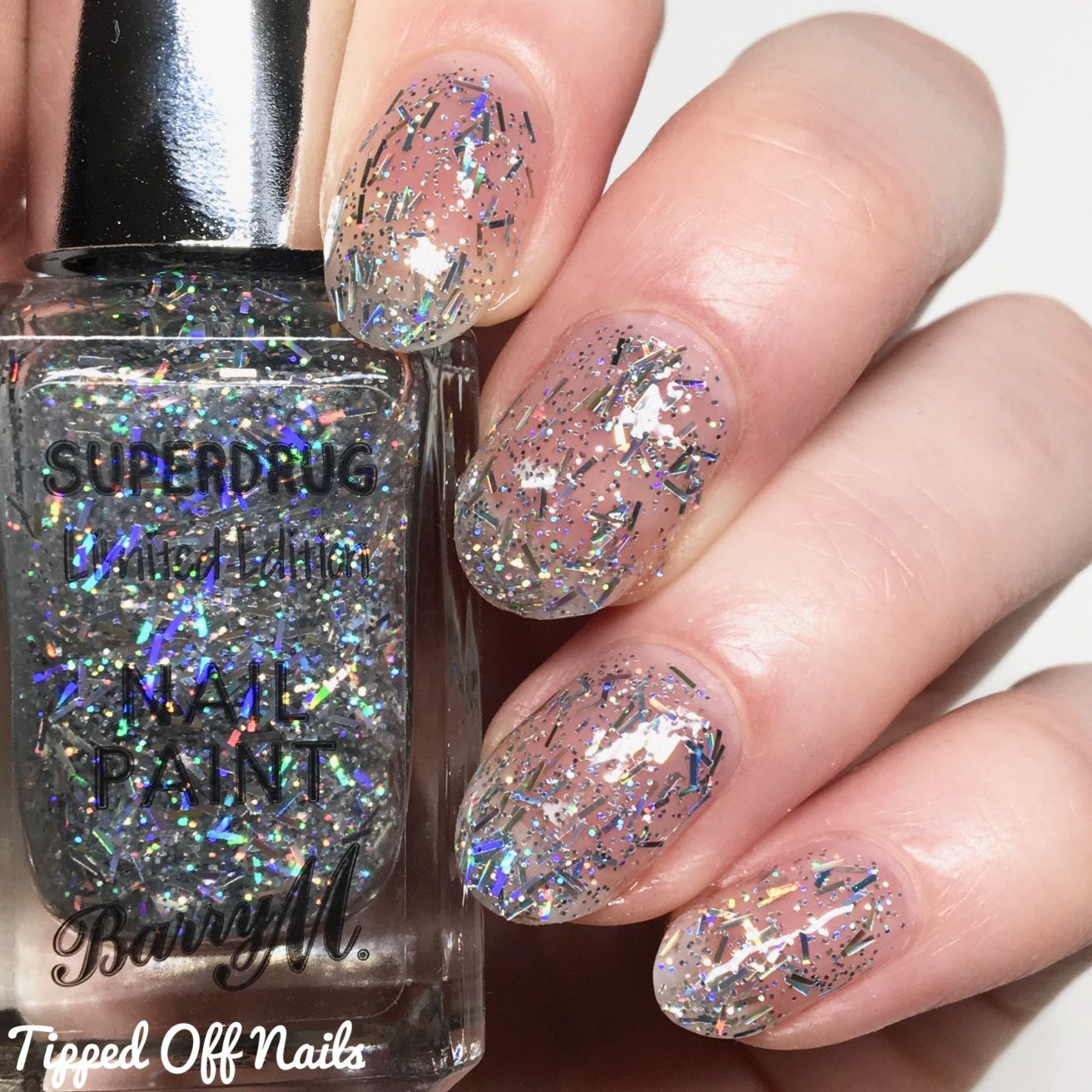 Barry M Superdrug Limited Edition Icicle Barry M Nails Lip Lacquer Superdrug