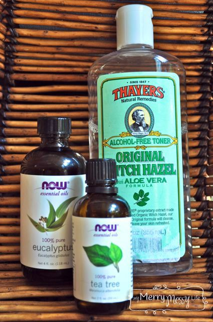 Homemade Natural Hand Purifying Spray Using Essential Oils