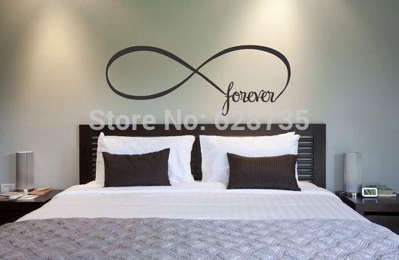 vinilos para pared de dormitorio matrimonial - Buscar con Google