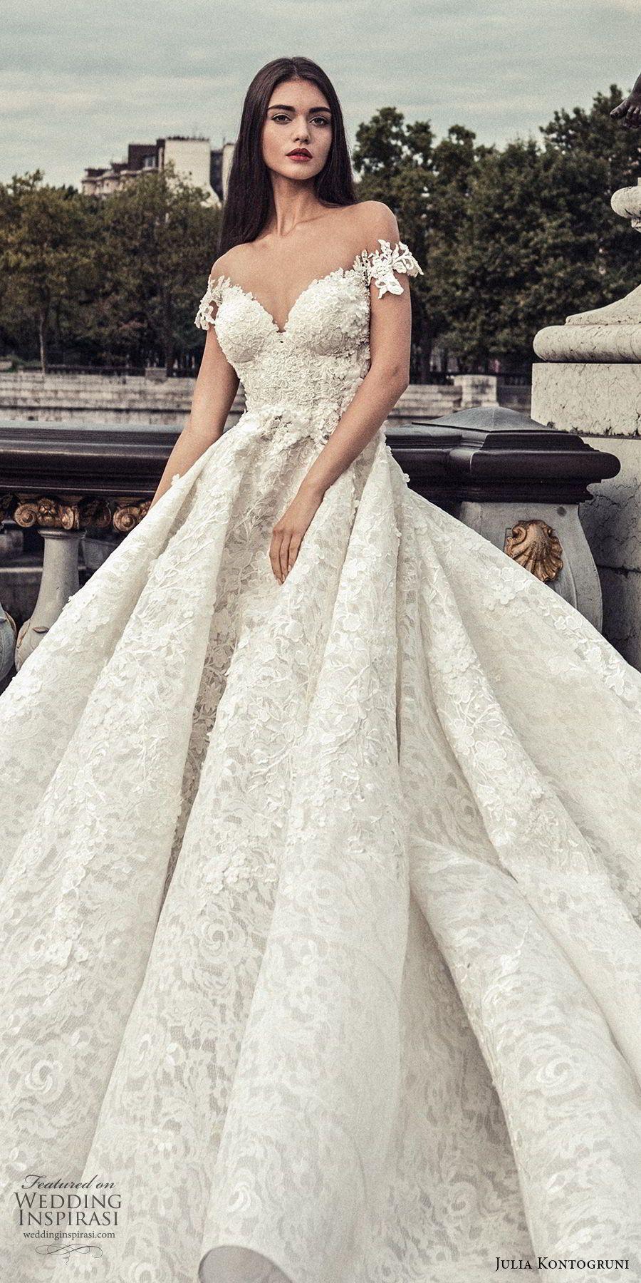 Julia Kontogruni Wedding Dresses 2018 Paris Bridal Collection