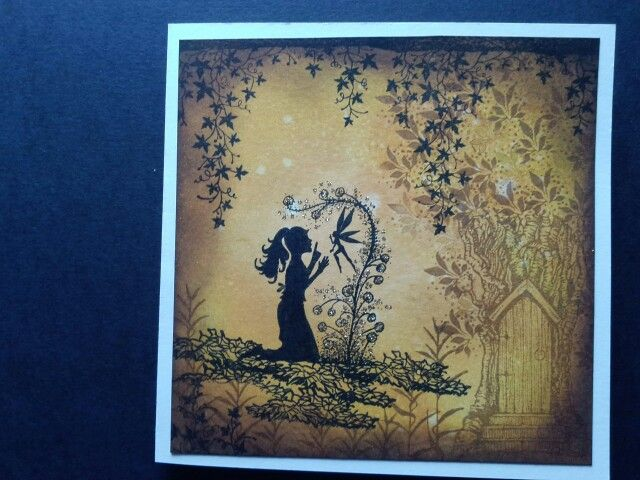 Mystical fairies using Lavina stamps