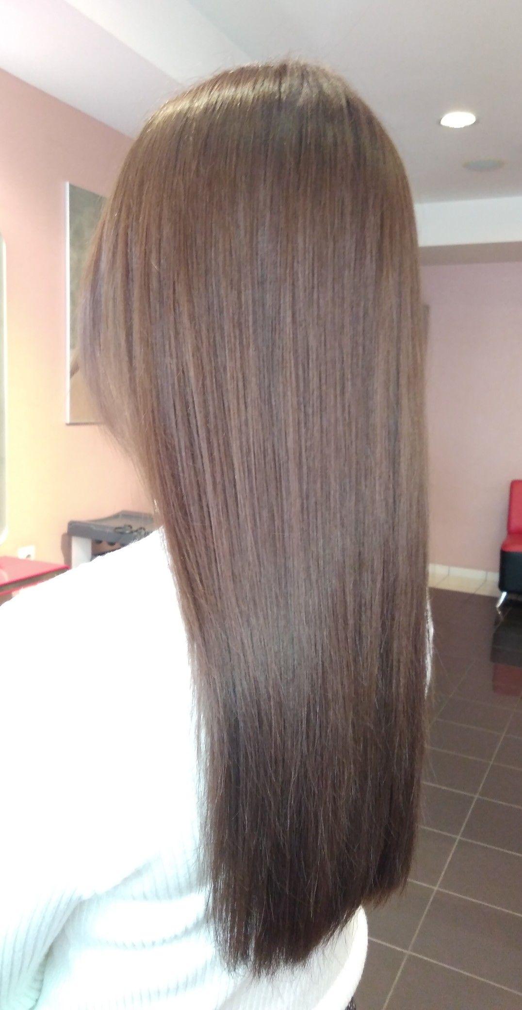 Haarfarbe 6 und 8 mischen