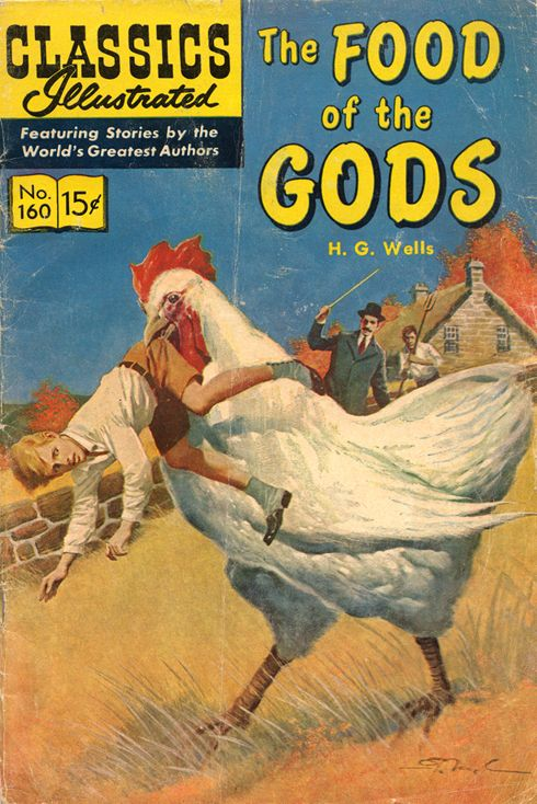 Food Book Cover Art : Food of the gods comic early s oh man i grew up on