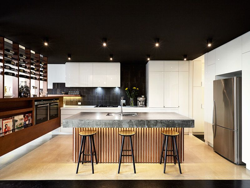 beautiful #kitchen at Yarraville House by Techné #Architecture