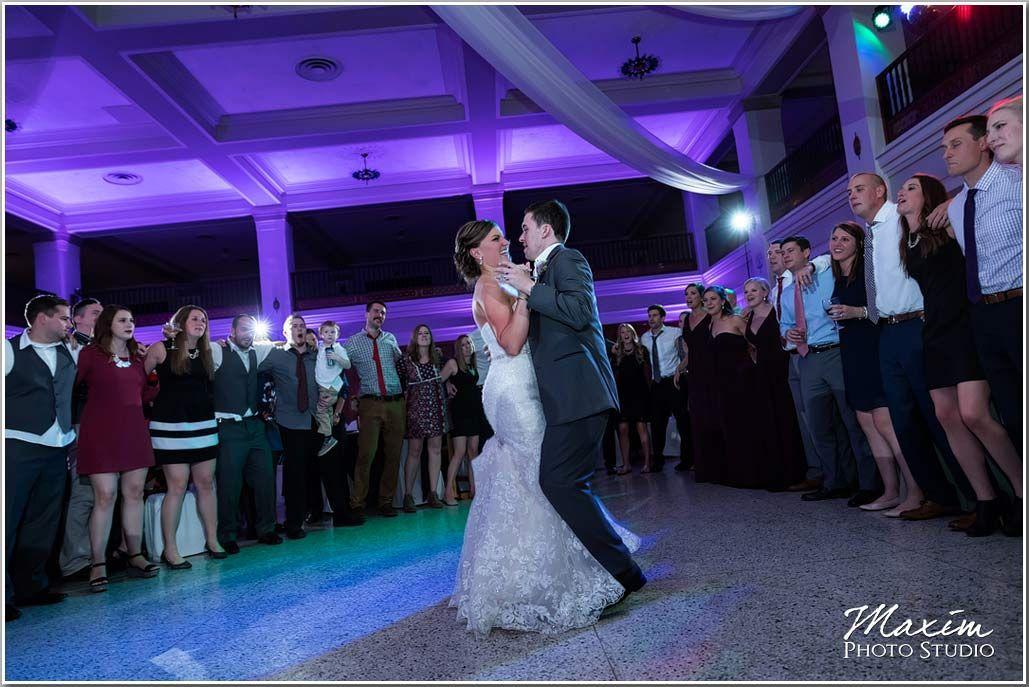 Dayton Masonic Center Wedding Photography Kristin Tyler Wedding Photography Ohio Wedding Photographer Ohio Wedding