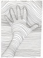 Display image coloriage op art illusion optique main activit s cole pinterest illusion - Mini coloriage illusion d optique ...