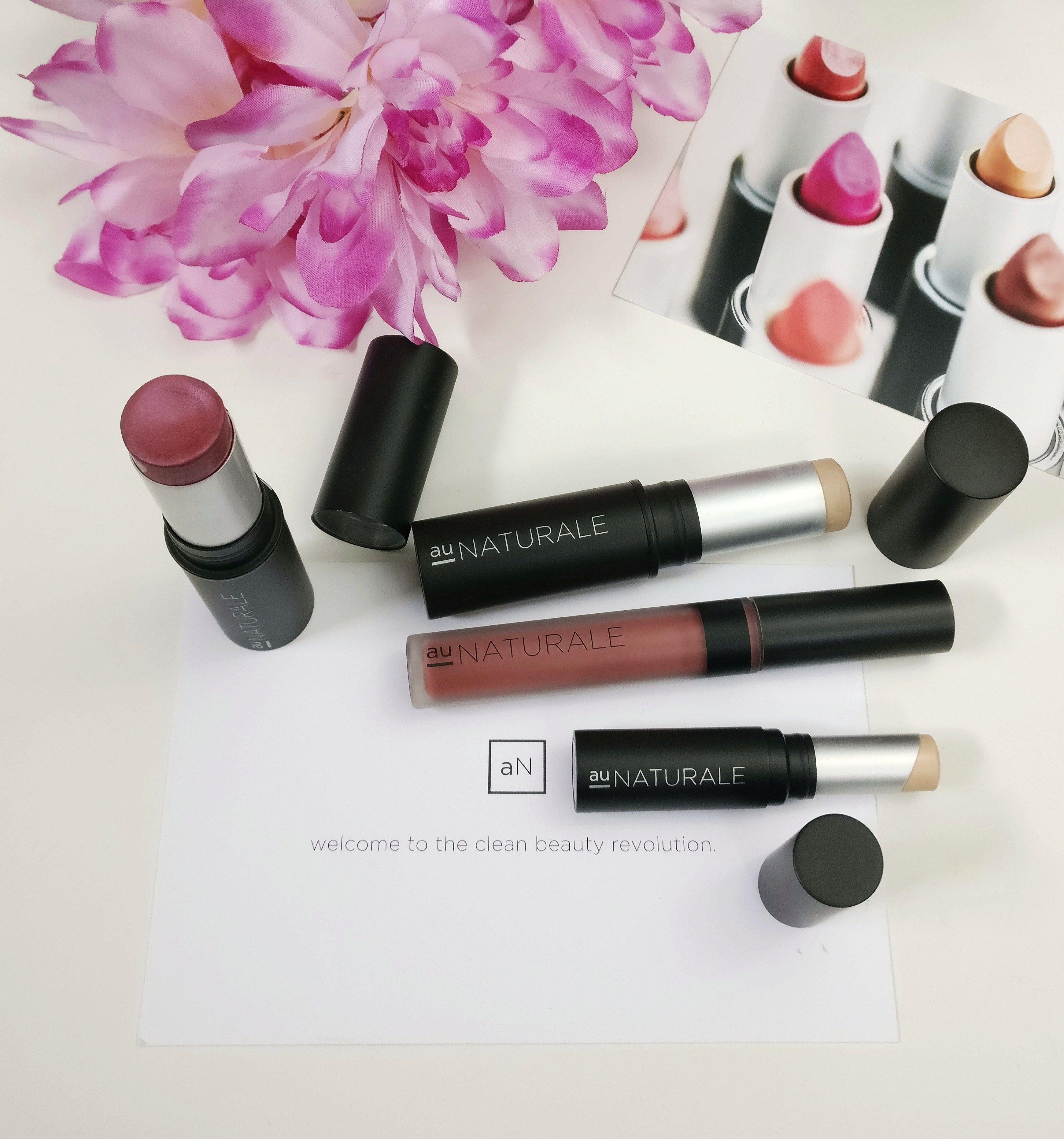 Au Naturale Cosmetics BRAND SPOTLIGHT! Review/Before