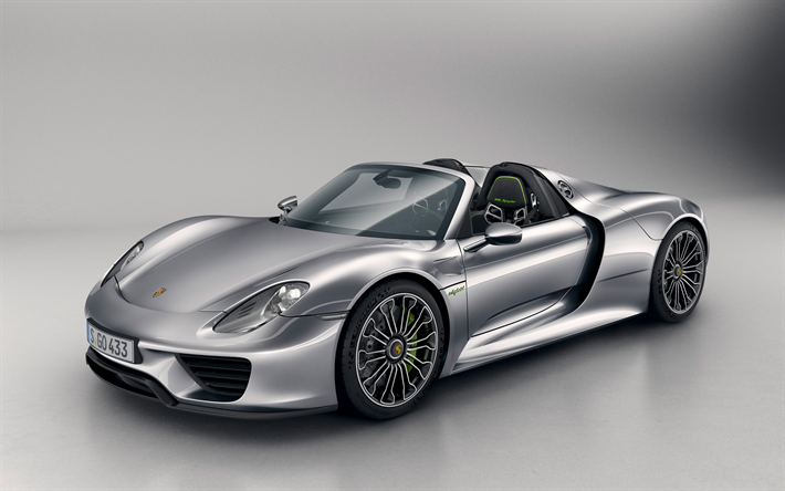 Download Wallpapers Porsche 918 Spyder 4k Racing Car