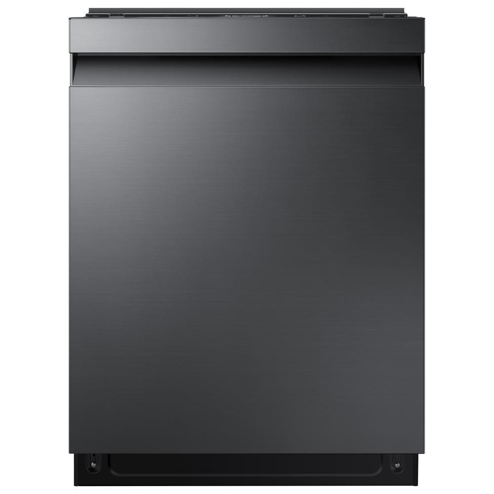 Samsung 24 In Black Stainless Steel Top Control Built In Stormwash Tall Tub Dishwasher With Autorelease 3rd Rack And 42 Dba Dw80r7060ug The Home Depot Black Stainless Steel Built In Dishwasher Stainless