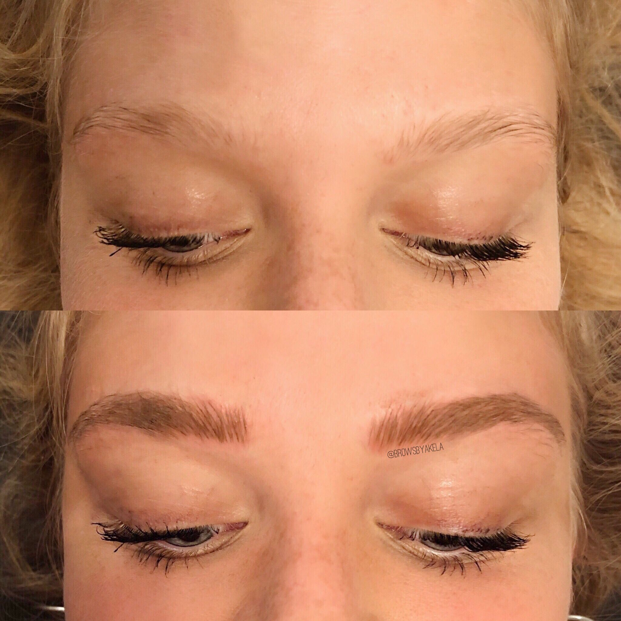 Pin by Aloia Coco on TBB in 2020 Brows, Microblading, Blonde