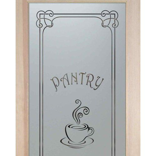 Want pantry doors 20 x 68 1 lite french etched glass door espresso pantry doors etched glass looking for the perfect pantry door to suit your style mix match your border design font planetlyrics Choice Image