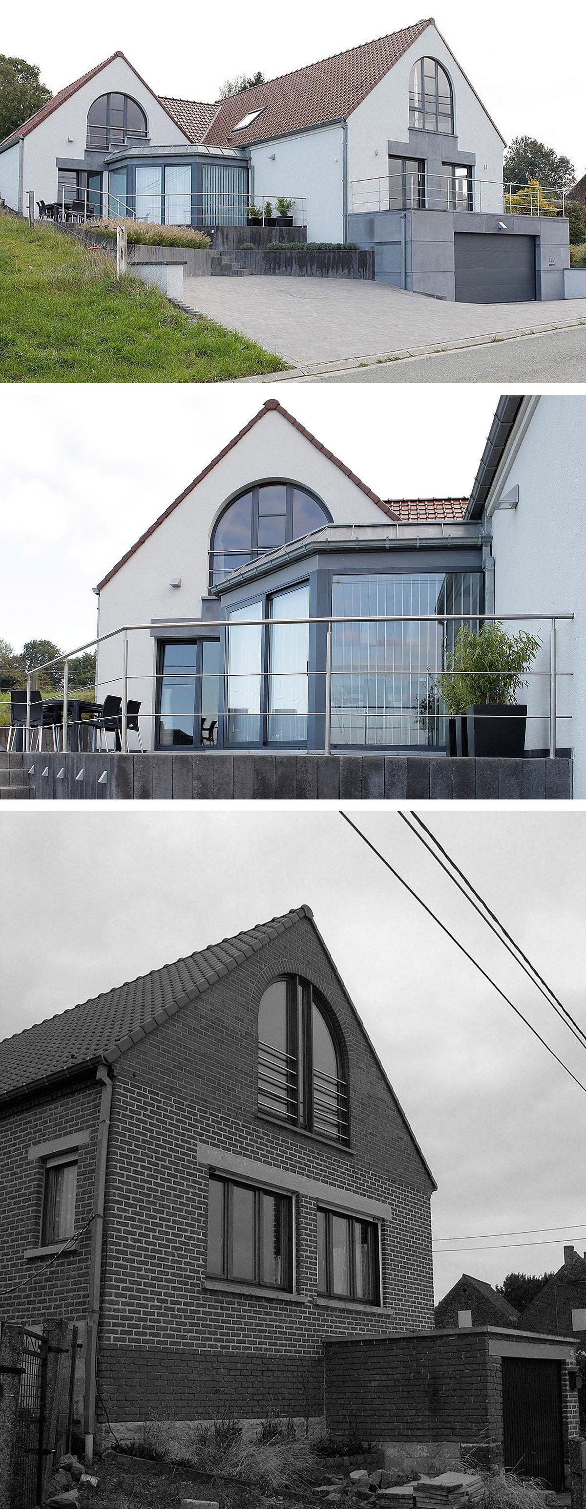 Extension lat rale de 56m au sol comprenant une chambre for Idee di veranda laterale