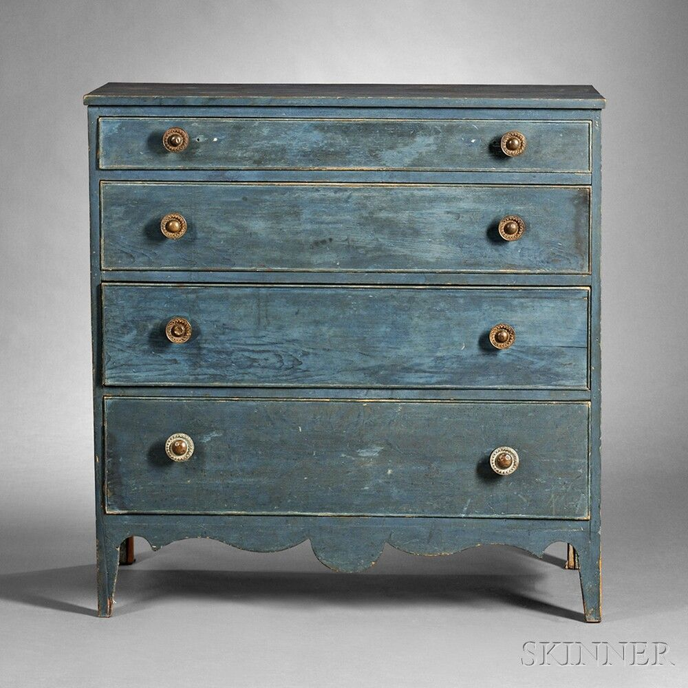 Best Blue Painted Pine Chest Of Drawers Got The Blues 400 x 300