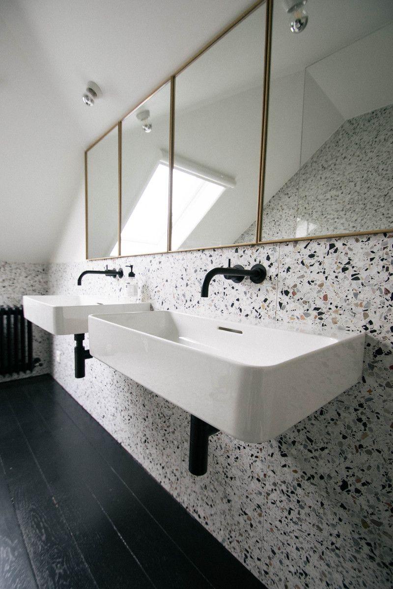 Accessoire Salle De Bain Terrazzo ~ terrazzo projecten man architecten badkamer pinterest