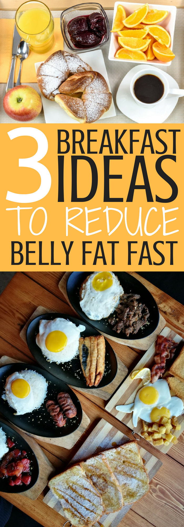 3 Breakfast Ideas To Reduce Belly Fat Fast Share All Your Pins