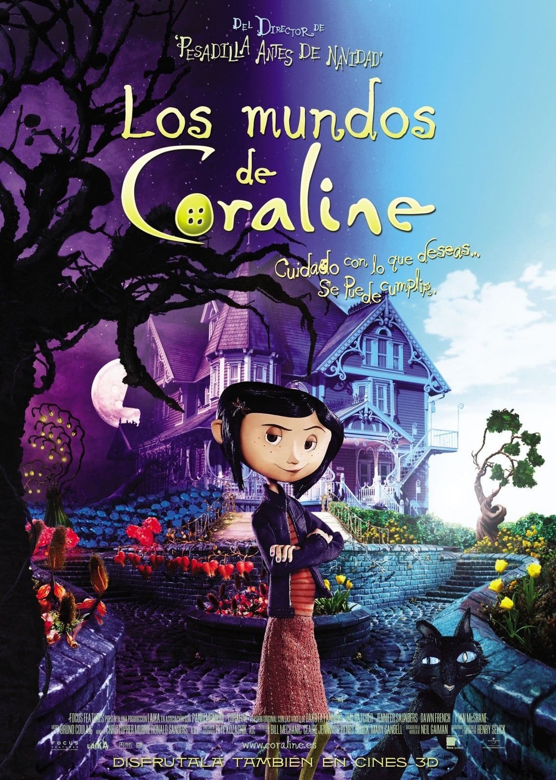 Ver Hd Coraline 2009 Pelicula Completa Gratis Online En Espanol Latino Coraline Movie Coraline Film Coraline Art