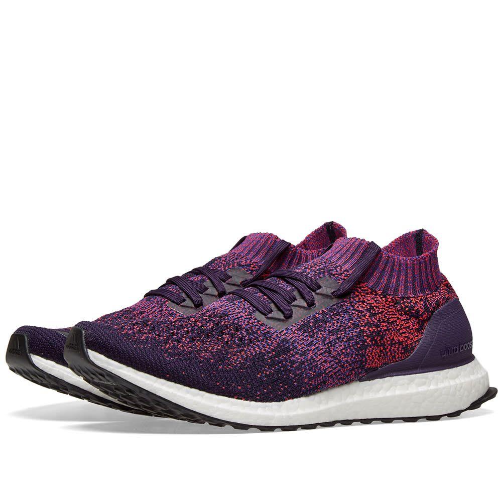 purple adidas boost