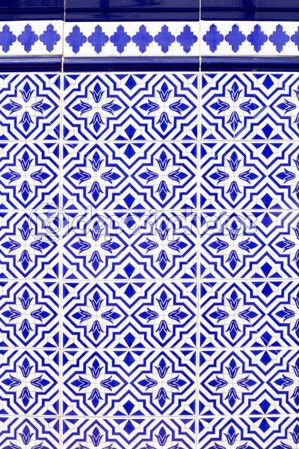 Andalusian Style Spanish Blue Ceramic Tiles THE BLUES In 40 Enchanting Spanish Patterns