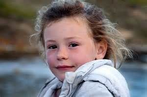 Little girl from Falkland Island