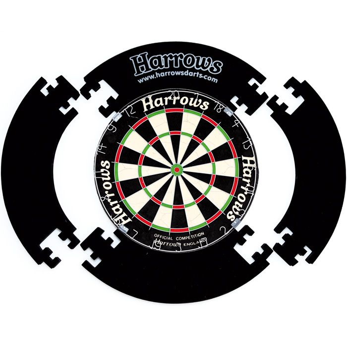 mein schutz f r die wand harrows 4 piece dartboard surround meine welt ist eine scheibe. Black Bedroom Furniture Sets. Home Design Ideas