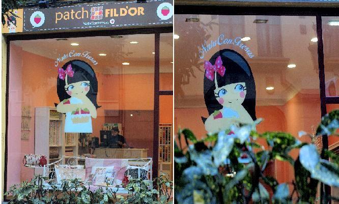 NataConFresas, la tienda de patchwork en Oviedo.