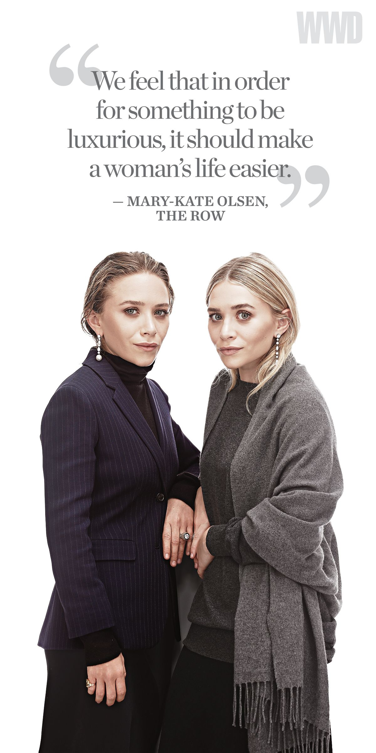 Ashley Olsen And Mary Kate Olsen For The Row Accessory Designer Of The Year Fashionistas Love Luxurious Olsen Twins Style Mary Kate Mary Kate Ashley