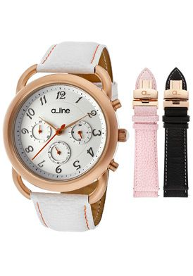 a_line 80012-RG-02-WH-SSET Watch