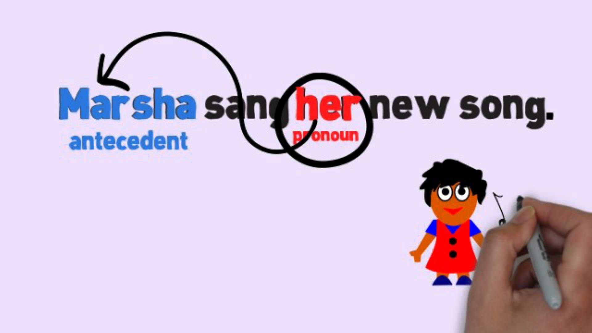 Pronouns Amp Antecedents Song By Melissa Playlist