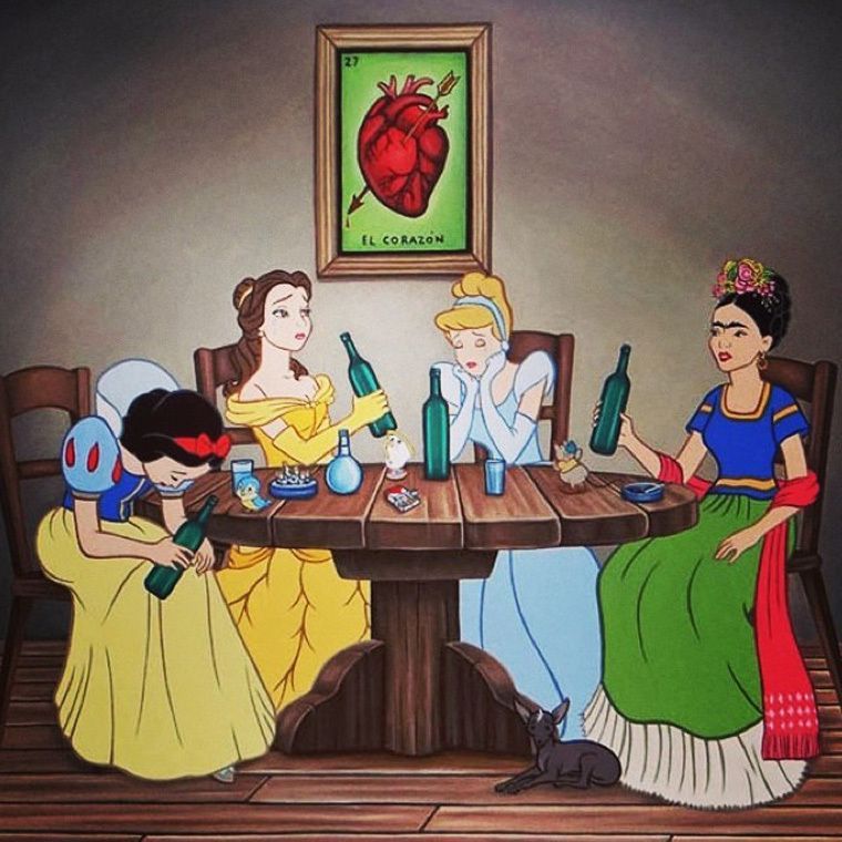 you can t unsee these disney characters behaving badly nsfw rh pinterest com funny drunk cartoon characters drunk cartoon character photos