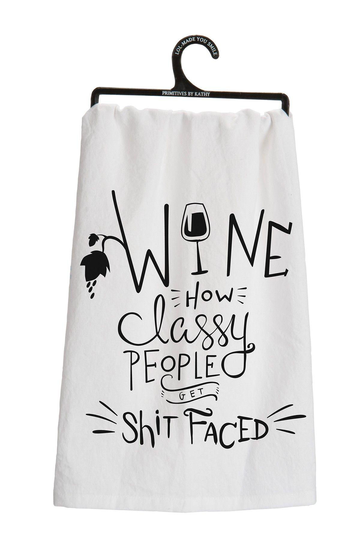Wine Tea Towel Wines Spirits Dish Towels Tea Towels