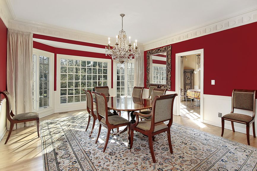 DID YOU KNOW? Red In A Dining Room Can Stimulate Appetite