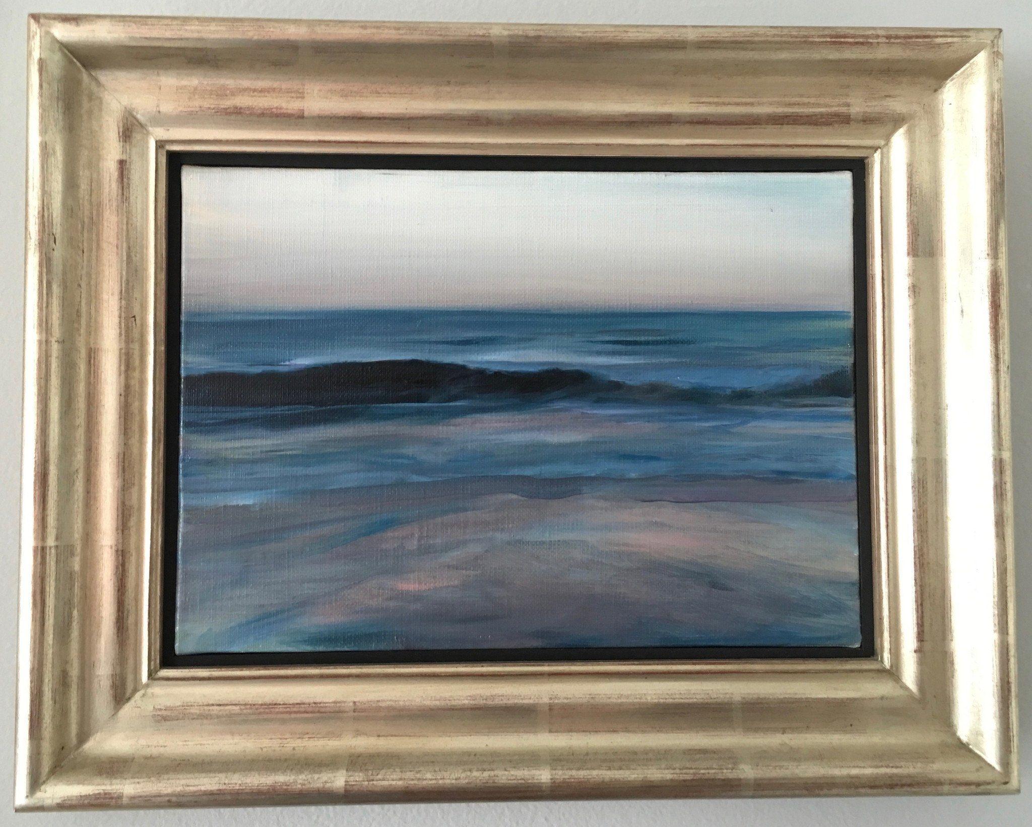 Paul P Canadian Artist Important Oil Painting Seascape
