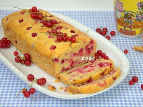 rode bessen cake recept