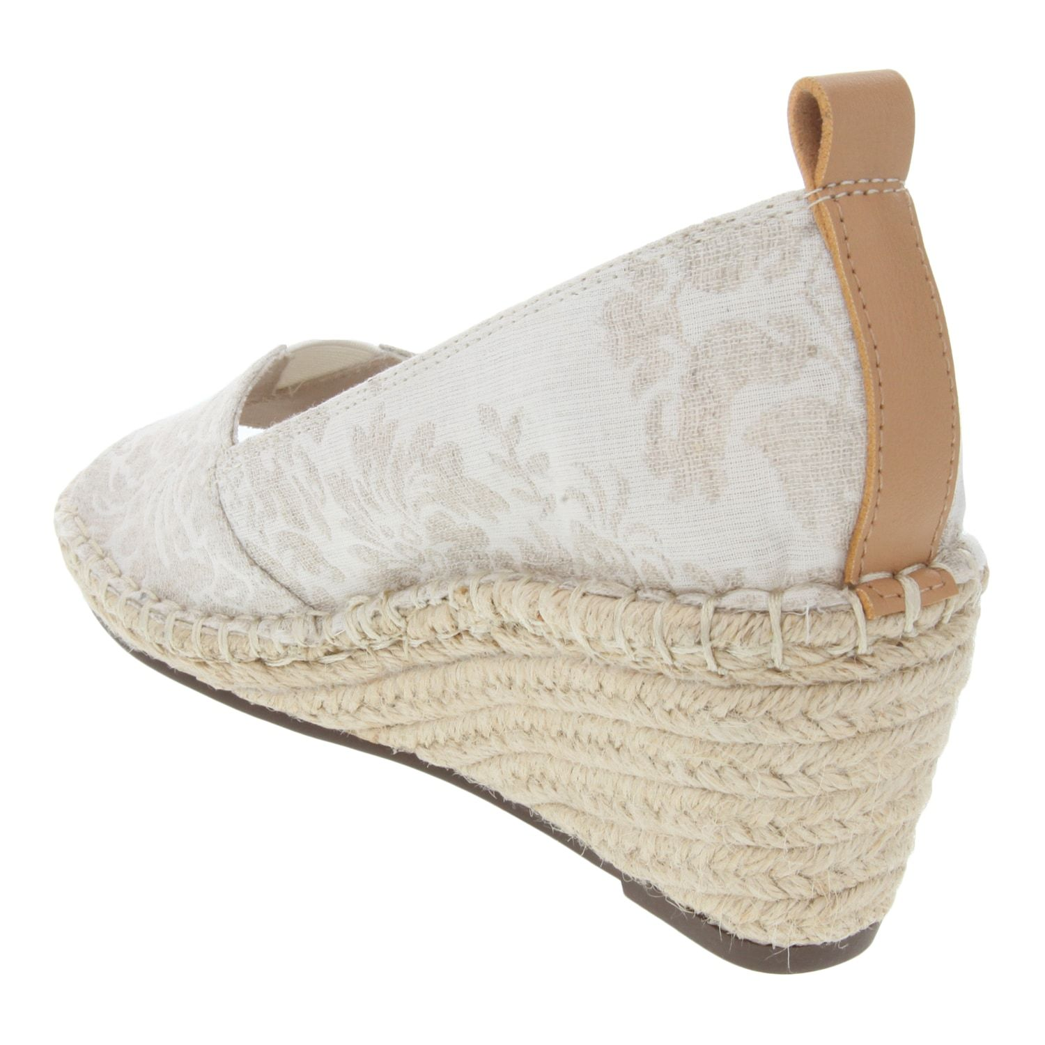 1370fd58587 Womens Gloria Vanderbilt Franklin Open Toe Espadrille Wedge ...
