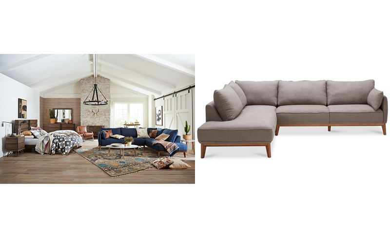 Super Jollene 113 2 Pc Sectional Created For Macys Home Pabps2019 Chair Design Images Pabps2019Com