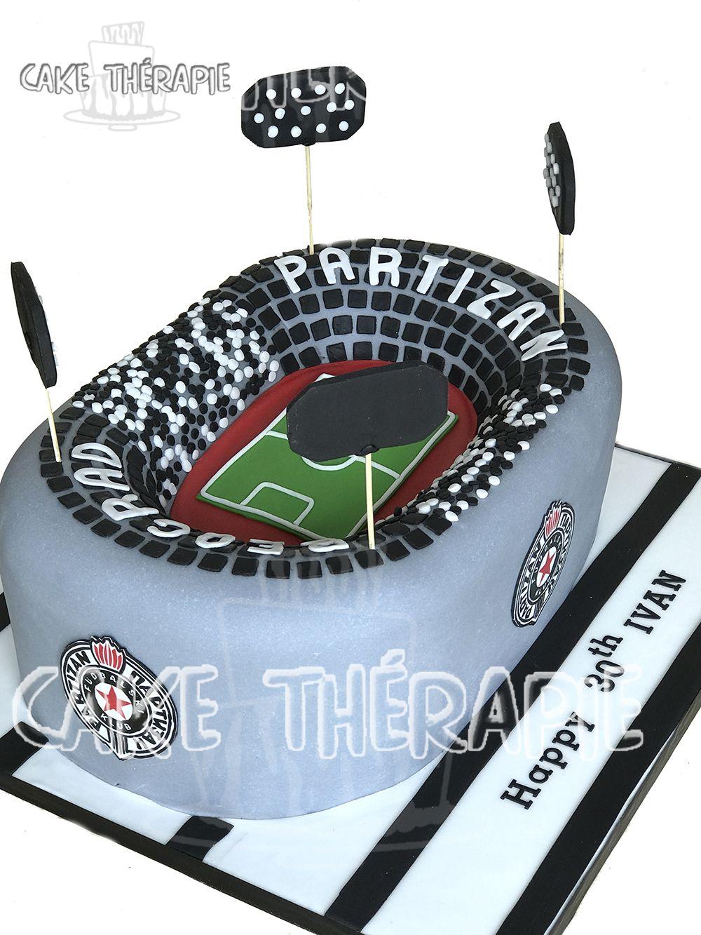 Stadium Cake , 30th Birthday , Men's cake