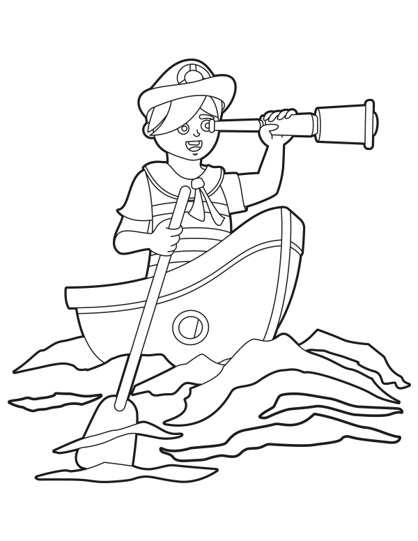 Free Printable Row Boat Coloring Page Download It At Https Museprintables Com Download Coloring Page Row Boat Coloring Pages Row Boat Color