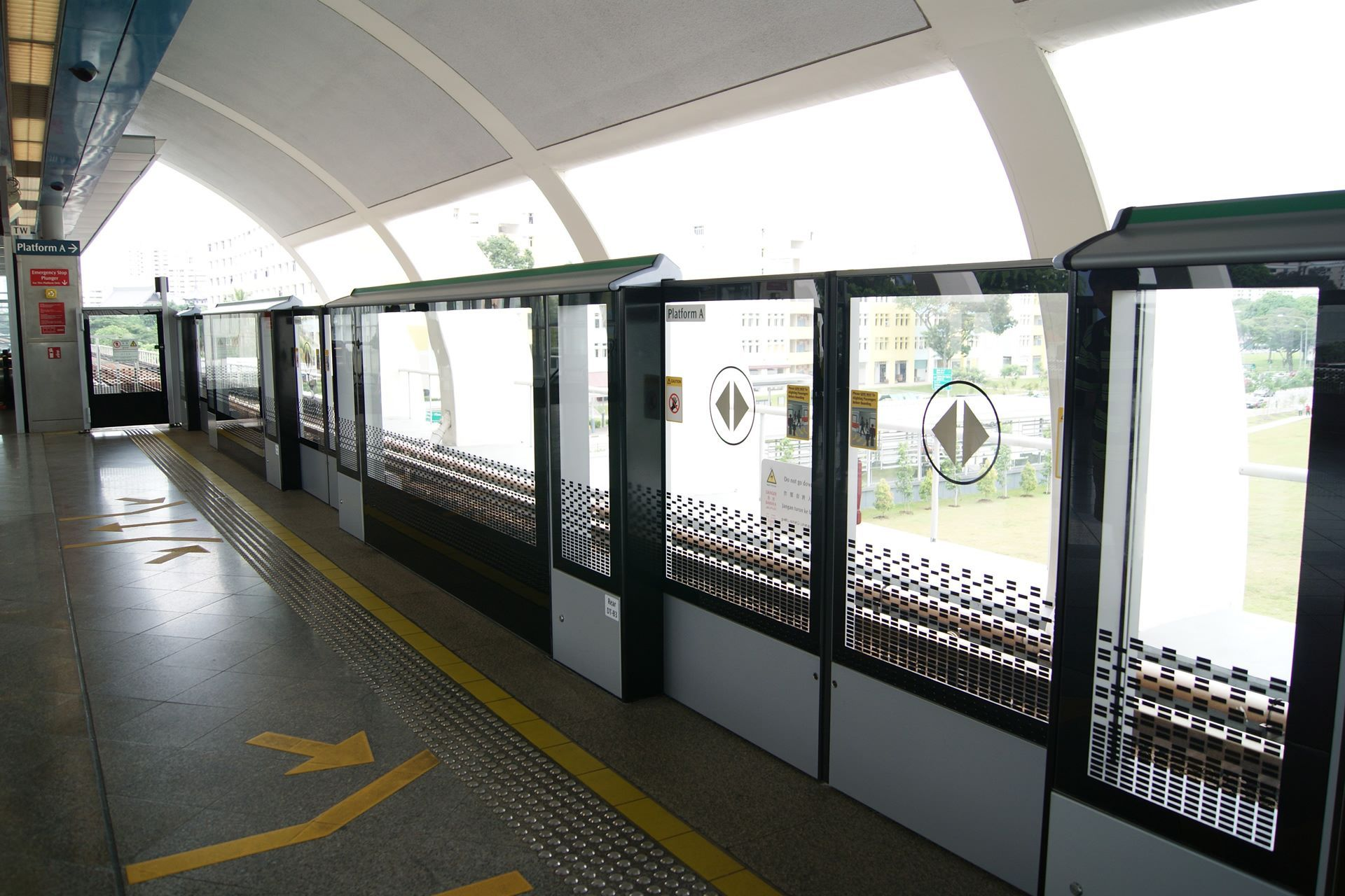 Quite a while back, MRT Stations in Singapore installed ...