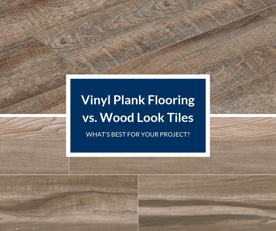 Vinyl Plank Vs Wood Look Tile Which Is Best For You Builddirect In 2020 Wood Look Tile Vinyl Plank Flooring Vinyl Plank