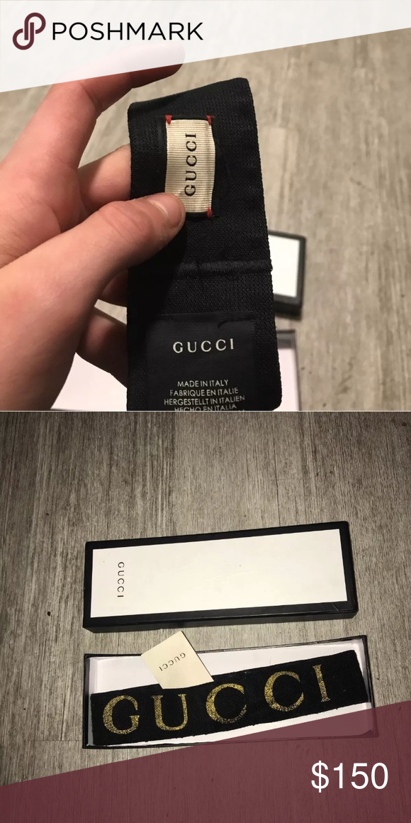 0143b2a7cbe Authentic Gucci headband Bought 270 selling 150 box and tags and receipt  Text me for a better deal 3308423109 Gucci Accessories Hair Accessories
