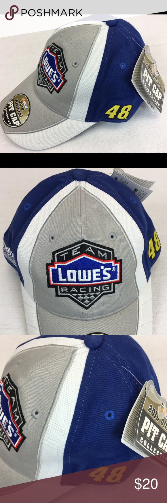 ceb189fa1d3bb NWT NASCAR  48 Lowe s Racing Hat Baseball Cap Brand new with tags! For  NASCAR