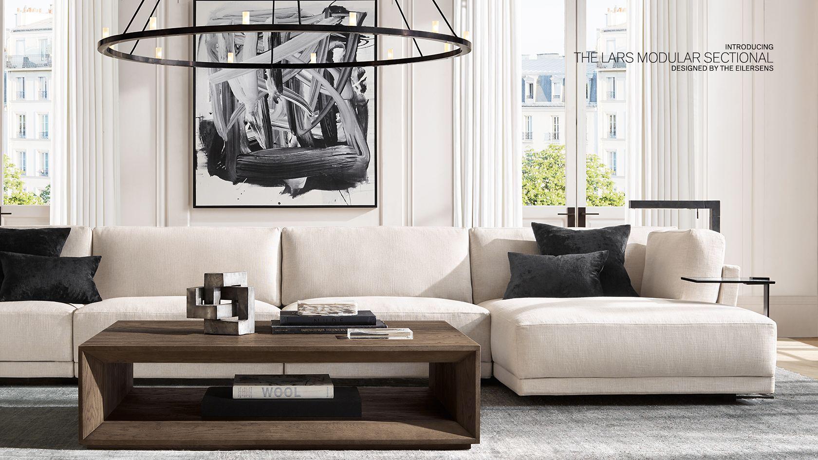 Rh Modern Formal Living Rooms Rh Living Room Rh Modern Living Rooms