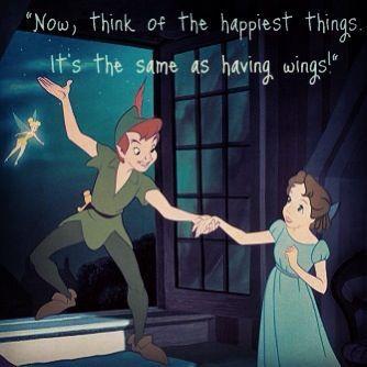 Peter Pan And Wendy Kiss Peter Pan Wendy Peter Pan