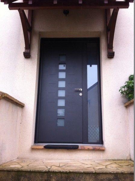 Photothèque des réalisations WILCO Porte d\u0027entrée Design Aluminium - choisir une porte d entree